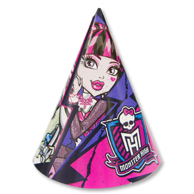Колпак Monster High 8шт/А