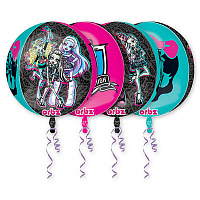 "А 3D СФЕРА 16"" Monster High G40"