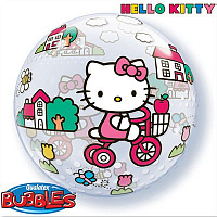 "П BUBBLE 22"" Hello Kitty"