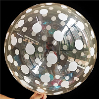 "К BUBBLE 18"" Кристалл Red Dots"