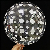 "К BUBBLE 18"" Кристалл Clear Dots"