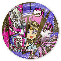 Тарелка Monster High 23см 8шт/A