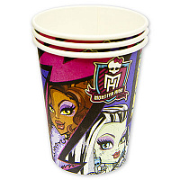 Стакан Monster High 250мл 8шт/A