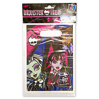Пакет п/э Monster High 8шт/A