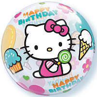 "П BUBBLE 22"" Hello Kitty HB"